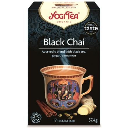 YOGI TEA BLACK ΒΙΟ 374ΓΡ