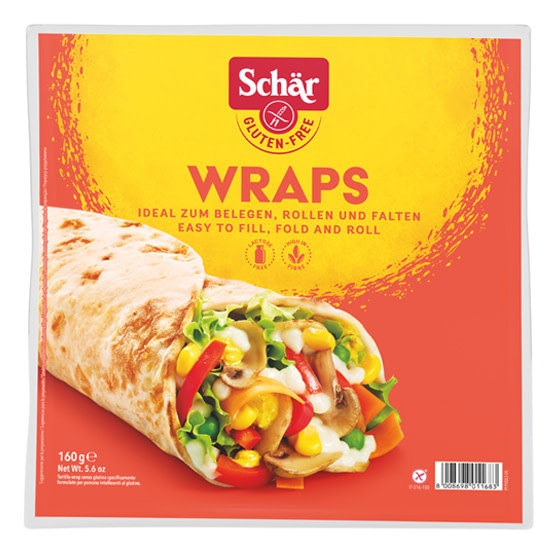 wraps glutenfree schar