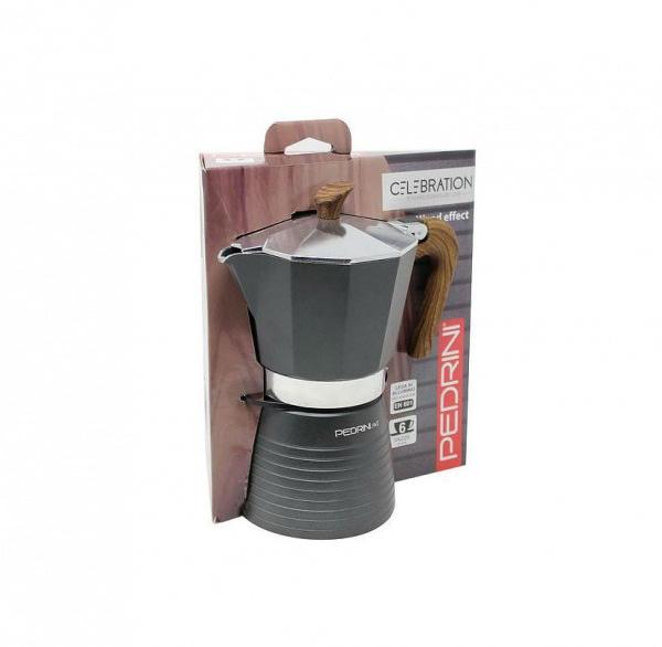 Μπρίκι Espresso 2 Φλιτζανιών Pedrini Celebration 1