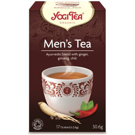 YOGI TEA MENS 306 progressive