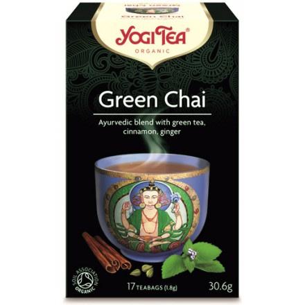 YOGI TEA GREEN TEA ΒΙΟ 306ΓΡ
