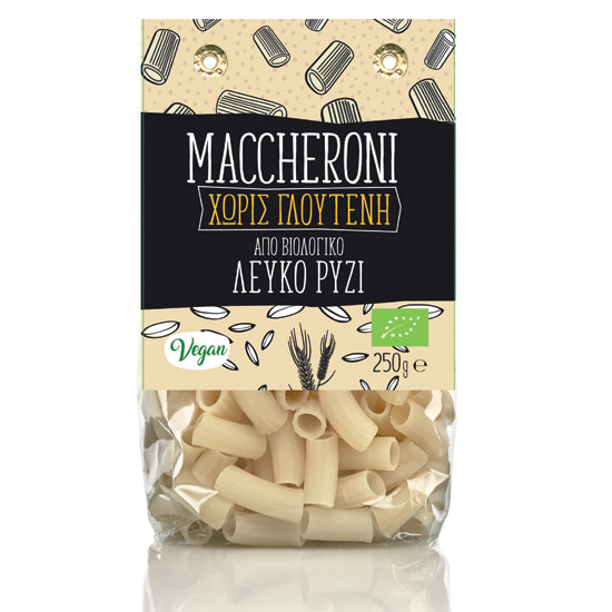 maccheroni rice GF