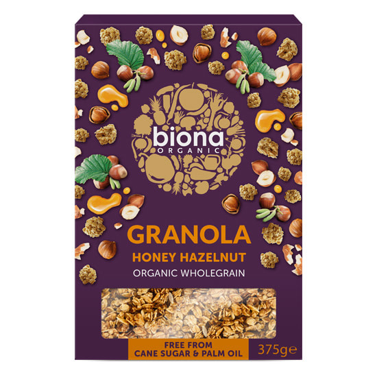 granola honey hazelnut
