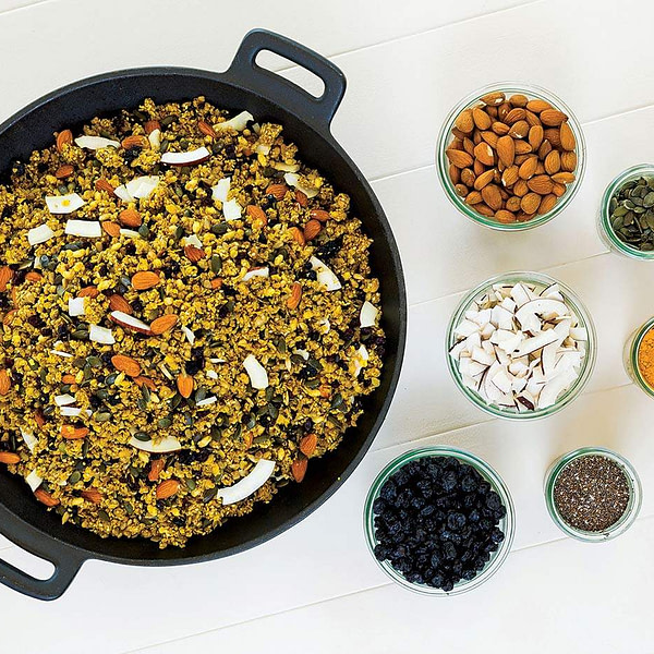 granola spicy protein